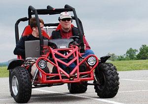 Desarrollan el primer automóvil para ciegos