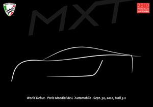 Mastretta Cars presentará su MXT en el Salón de París