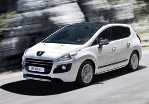 Peugeot 3008 HYbrid4, con motor eléctrico y diesel