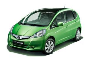 Honda Fit Híbrido debuta en el Autoshow de París 2010