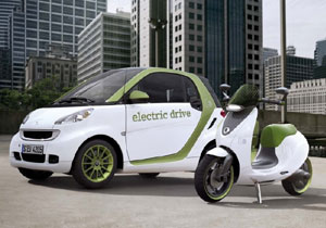 Scooter de Smart debuta en el Salón de París