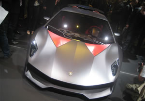 Lamborghini Sesto Elemento Concept debuta en París 2010