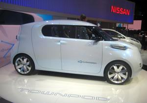 Nissan Townpod Concept debuta en París 2010