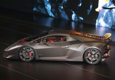 Lamborghini Sesto Elemento Concept:  Culto a la velocidad