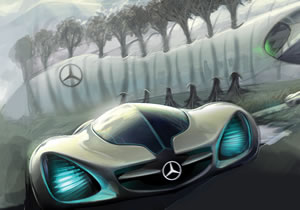 Salón de Los Ángeles 2010: El auto de 1,000 libras