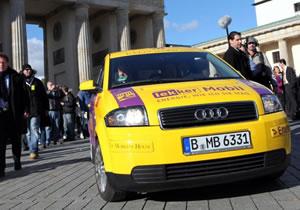 Lekker Mobil Audi A2: Un eléctrico que recorrió 605 kilómetros
