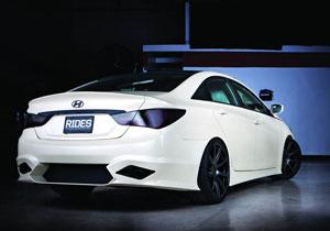 SEMA Show 2010: Hyundai Sonata Turbo by RIDES