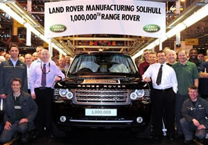 Se producen 1 millon de Land Rover Range Rover
