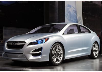 Subaru Impreza Design Concept: Rediseño total