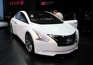 Nissan Ellure Concept debuta en el Salón de Los Ángeles 2010