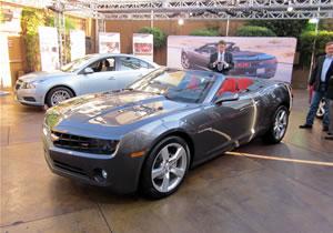 Chevrolet Camaro Convertible 2011 debuta en el Salón de Los Ángeles 2010