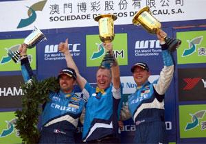 Chevrolet consigue el campeonato de constructores y de pilotos del WTCC