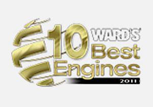 Los 10 mejores motores del año 2011 son anunciados
