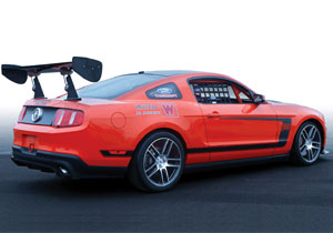 Ford Mustang Boss 302S Race Car