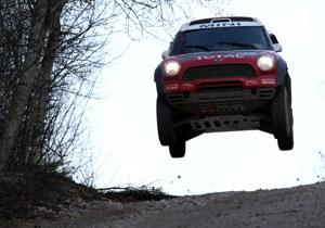 El Mini Coutryman All4 Racing completa sus primeras pruebas