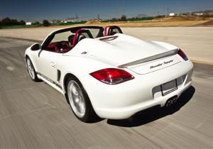 Porsche Boxster Spyder 2011 a prueba