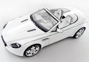 Aston Martin V8 Vantage Volante Blanc de Blancs, en honor al champán