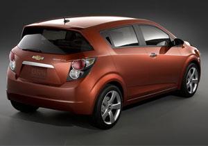La nueva generación del Chevrolet Aveo se llamará Sonic