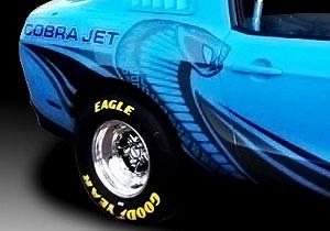 Mustang Cobra Jet  2012, de Ford Racing directo a las pistas