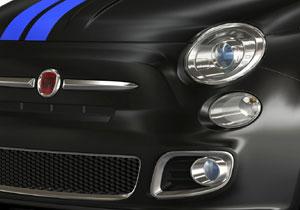 Fiat 500 modificado por Mopar en el Salón de Detroit 2011