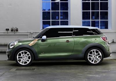 MINI Paceman Concept debuta en el Salón de Detroit 2011
