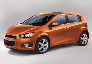 Chevrolet Sonic en el Salón de Detroit