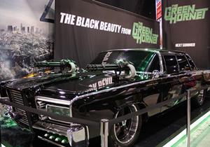 Black Beauty, el auto del Avispón Verde