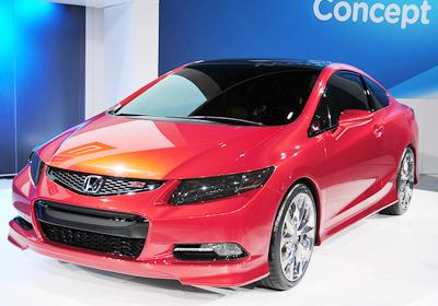 Honda Civic Concept: Señores, el Civic 2012