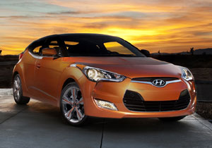 Hyundai Veloster presentado en el Salón de Detroit