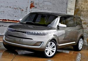 Kia KV7 Concept en el Salón de Detroit