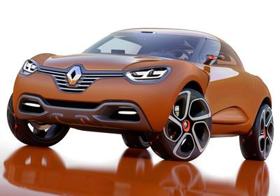 Renault Captur Concept debuta en el Salón de Ginebra 2011
