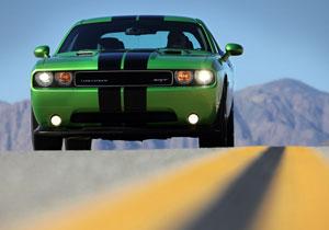 Dodge Challenger verde de envidia debuta en el Salón de Chicago