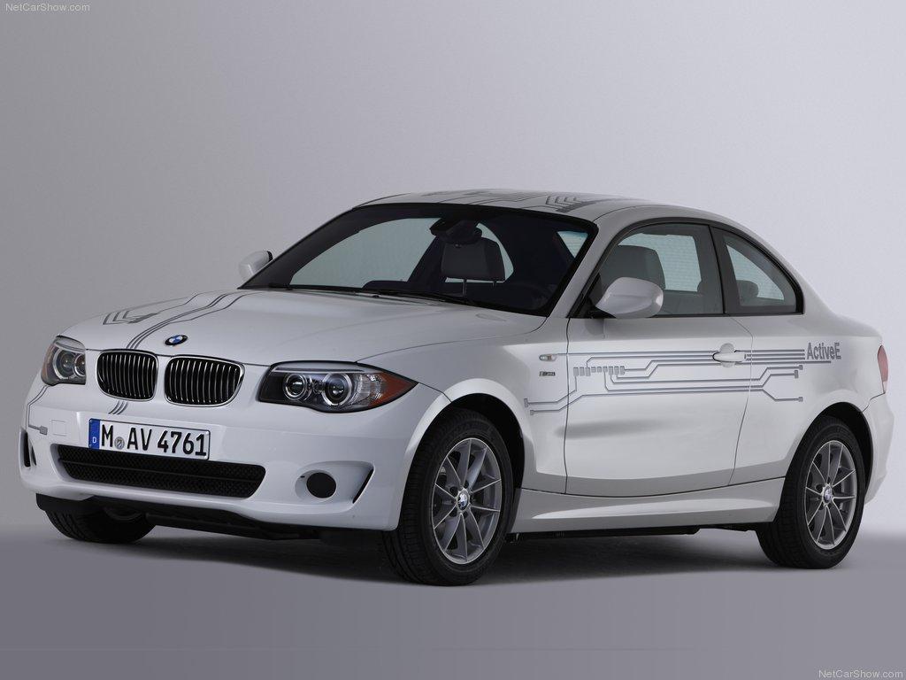 BMW ActiveE: Primer modelo eléctrico de la marca
