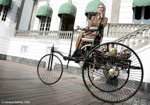 Benz Motorwagen 1886, el primer auto de la historia