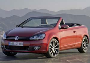 Volkswagen Golf Cabrio 2011 debuta en el Salón de Ginebra