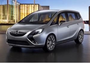 Opel Zafira Tourer Concept debuta en el Salón de Ginebra