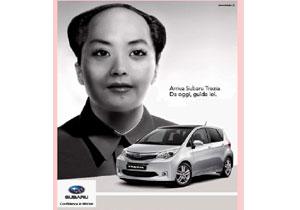 China se molesta por anuncio de Subaru