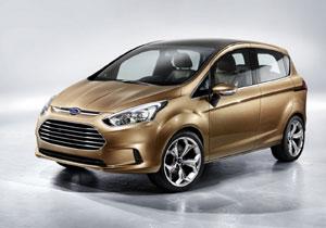 Ford B-Max Concept debuta en el Salón de Ginebra
