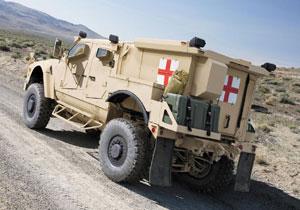 M-ATV la nueva ambulancia del ejército de EUA