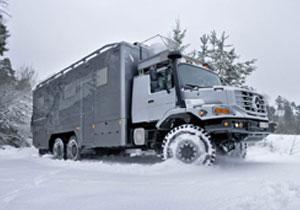 Mercedes Benz Zetros 6x6, un vehículo para expediciones