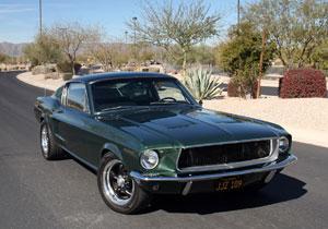 Producirán el Mustang que utilizó Steve McQueen en 1968