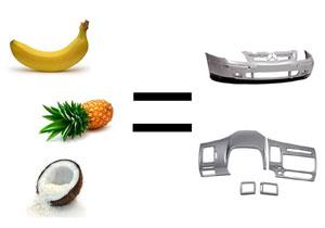 Ahora Brasil fabricará autos con frutas