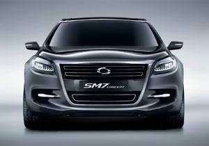 Renault Samsung SM7 debuta en el Salón de Seúl