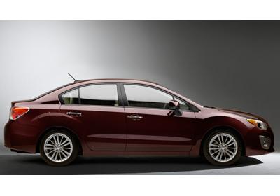 Subaru Impreza 2012, primera imagen