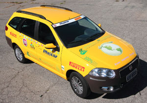 Fiat Palio Weekend eléctrico recorrerá de Argentina hasta USA