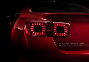 Primeras imágenes del Chevrolet Malibu 2013