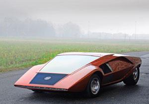 La exótica colección de autos Bertone será subastada