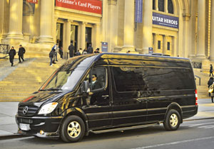 Brilliant Mercedes Benz Sprinter, confort sobre ruedas