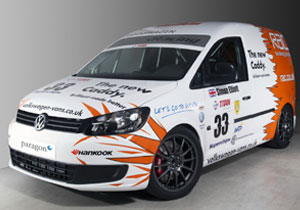 Volkswagen Caddy Racer, listo para competir