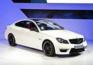 Mercedes-Benz C63 AMG Coupé debuta en el Salón de Nueva York